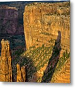 Spider Woman Rock Two Metal Print