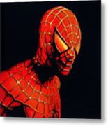 Spiderman Metal Print