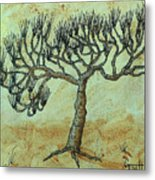 Spikey Tree No. 2 Metal Print