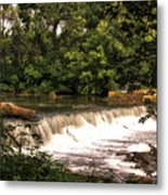 Spillway Early Morning Metal Print