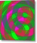 Spin 2 Metal Print