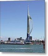 Spinnaker Tower Portsmouth England Metal Print