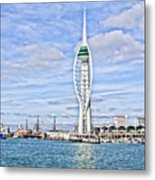 Spinnaker Tower Portsmouth Metal Print