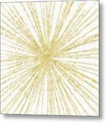 Spinning Gold- Art By Linda Woods Metal Print