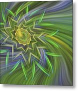 Spinning Star Metal Print