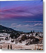 Spion Kop In Winter Metal Print by Rod Sterling