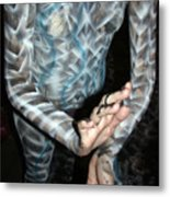 Spiral 8 Metal Print by Leigh Odom