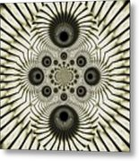 Spiral Eyes Metal Print