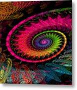 Spiral In  Spirals. Metal Print