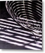Spiral Shadows Metal Print