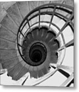 Spiral Staircase At The Arc Metal Print