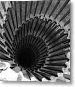 Spiral Staircase In Lublijana Metal Print