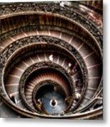 Spiral Staircase No1 Metal Print