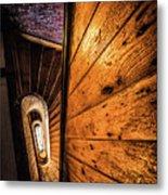 Spiral Stairwell Metal Print