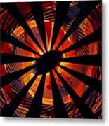 Spiral To Infinity Metal Print