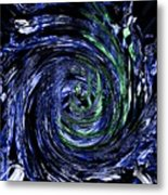 Spiral Vision Metal Print