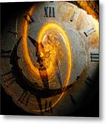 Spiraling Through Time Metal Print