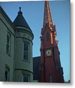 Spire Of Chinatown Metal Print