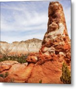 Spire Rocks At Kodachrome Basin State Park Metal Print