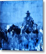 Spirit Herd Metal Print