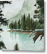 Spirit Lake Metal Print