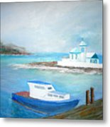 Spirit of the Sea Metal Print