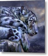 Spirit Of The Snow Metal Print