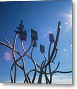 Spirit Of The Staithes Metal Print