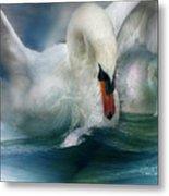 Spirit Of The Swan Metal Print