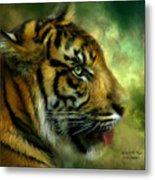 Spirit Of The Tiger Metal Print