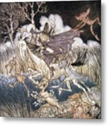 Spirits In Sleepy Hollow Metal Print by Granger