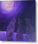 Spirits In The Night Metal Print