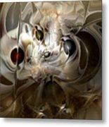 Spiritual Chops Metal Print