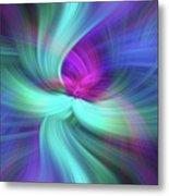 Spiritual Freedom. Mystery Of Colors Metal Print