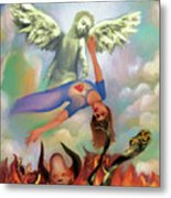 Spiritual Warfare Of Heart And Mind Metal Print