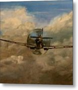 Spitfire Mk19 1945 Warbird - Dedicated To My Closest Friend Melody Lasola 08 08 83 - 25 10 09 Metal Print