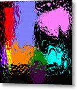 Splash Of Colors Metal Print