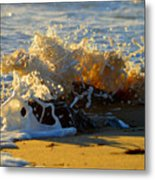 Splash Of Summer - Cape Cod National Seashore Metal Print