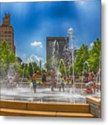 Splashville Of Asheville Metal Print