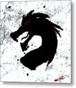 Splat O Dragon Metal Print