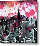 Splatter Pop Metal Print