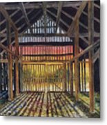 Splendor In The Barn Metal Print