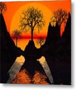 Splintered  Sunlight Metal Print