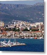 Split Croatia's Waterfront Metal Print