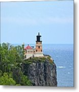 Split Rock Beacon Metal Print
