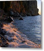 Split Rock Lighthouse At Dawn Metal Print
