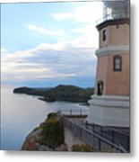 Split Rock Lighthouse Four Metal Print