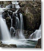 Split Rocks Falls 2 Metal Print