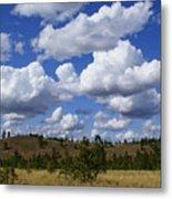 Spokane Cloudscape Metal Print