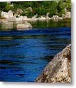 Spokane River Metal Print
